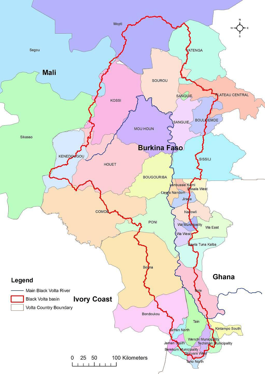 Basins Water Resources Commission Of Ghana